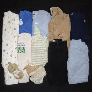 Baby Gap Boys 3-6 Months Clothing Outfits Bundle
